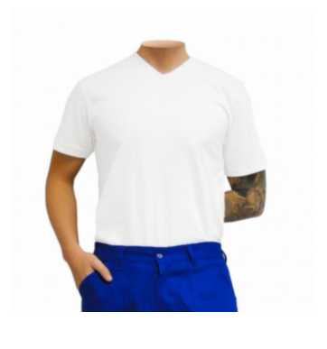 Camisa de malha Gola careca