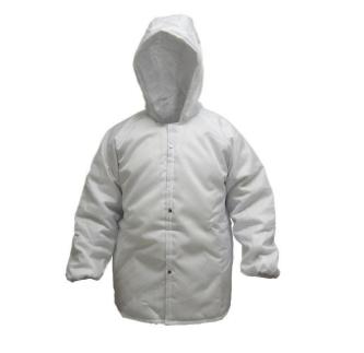 Japona nylon para câmara fria ( -35ºC ) M - Branca com capuzCA 10975