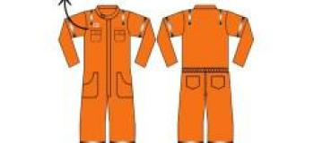 Macacão rf laranja